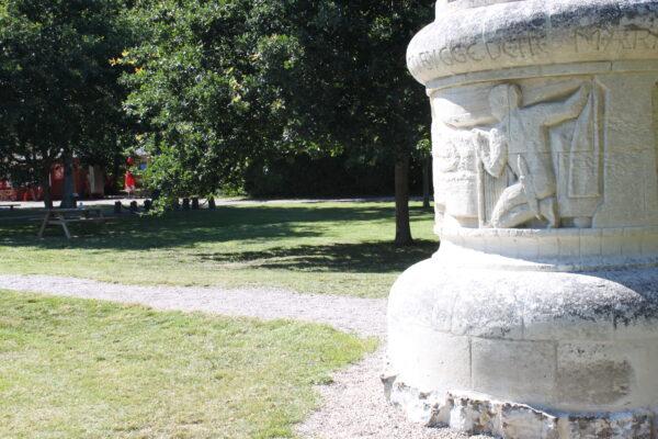 Christian Richardt's mindesten i Højerup